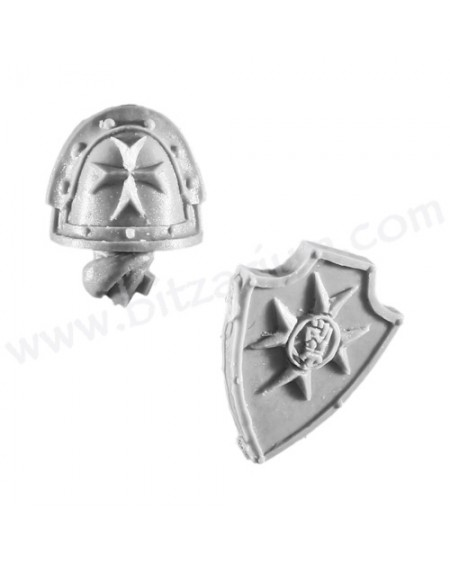 Combat Shield 1 - Templar Brethren