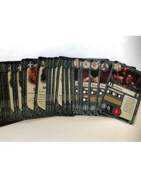 Band cards (FR) - Godsworn Hunt