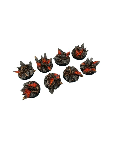 Chaos Bases- Round 32mm x 4
