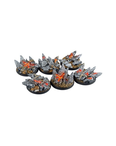 Socles Chaos - Rond 40mm x 2