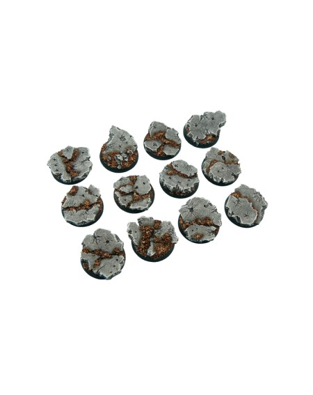 Ruins Bases- Round 25mm x 5