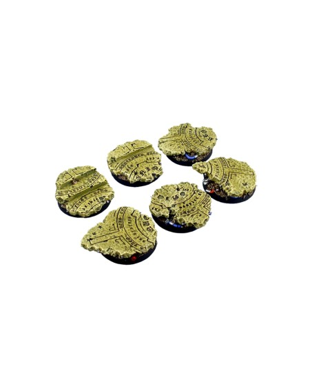Temple Bases- Round 40mm x 2