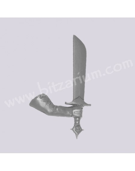 Bras droit avec Epée 1