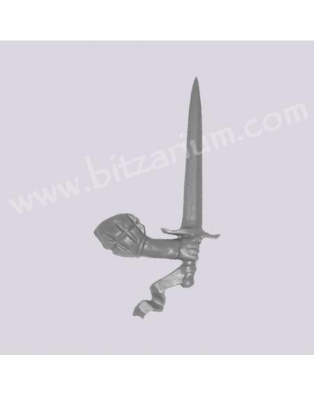 Bras droit avec Epée 3