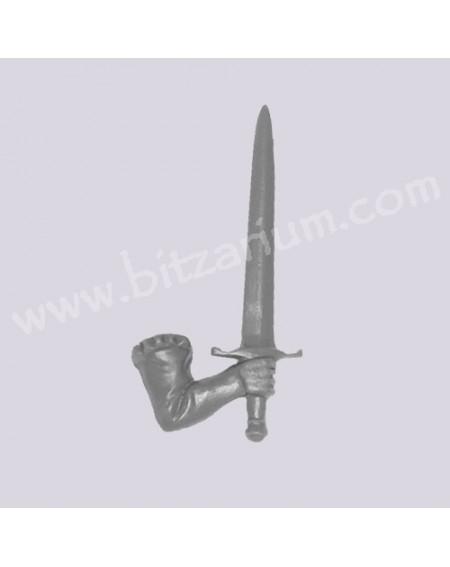 Bras droit avec Epée 4