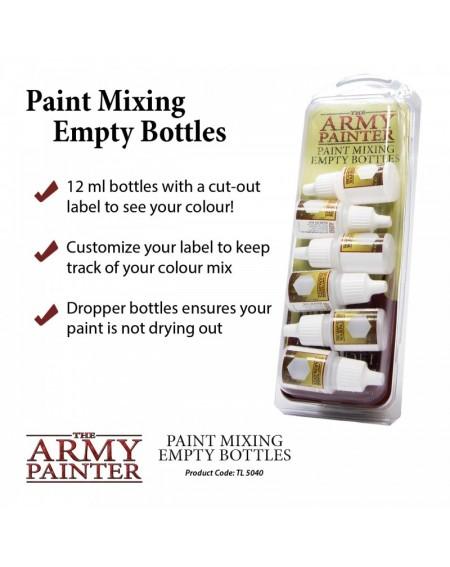 Paint Mixing Empty Bottle