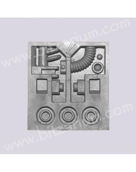Panneau technique de Réacteur 2