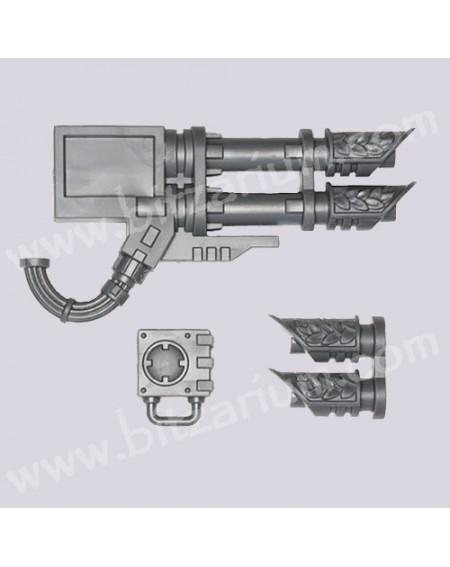 Canons Laser jumelés