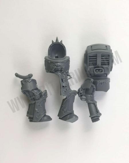 Corps 4 Chaos Space Marines Terminators