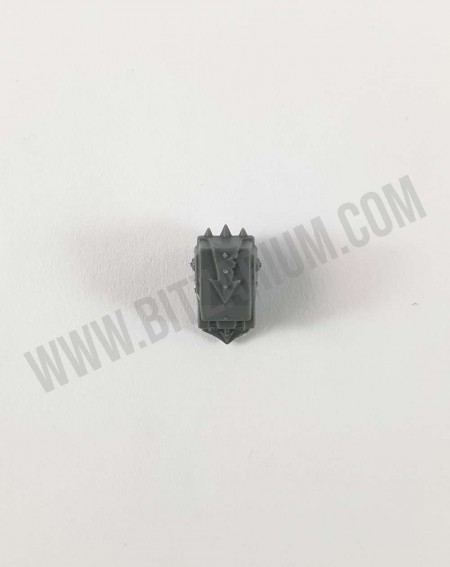Couvre Pack Dorsal Bolter Lourd Chaos Space Marines