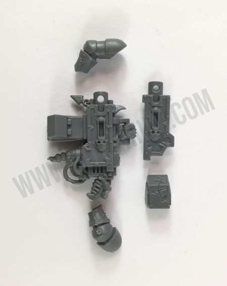 Bolter Lourd Chaos Space Marines