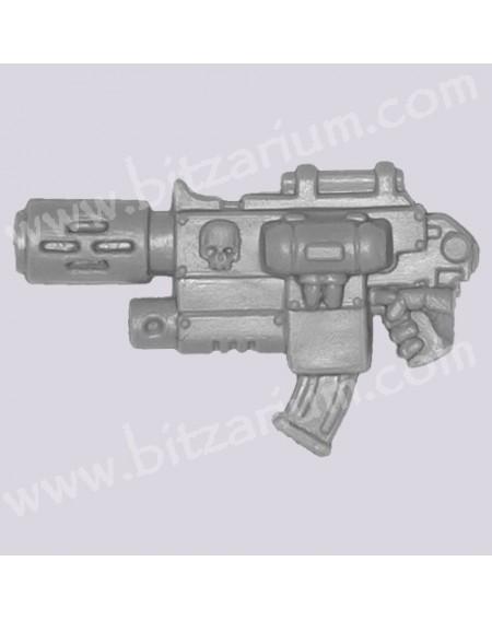 Arme combinée avec Fuseur