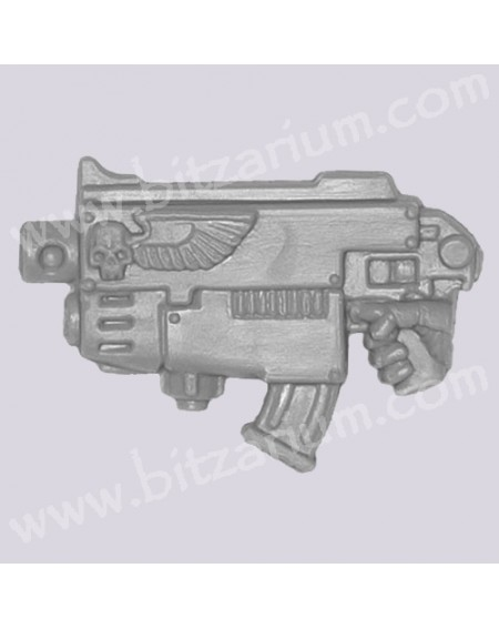 Combined Weapon with Plasma Gun