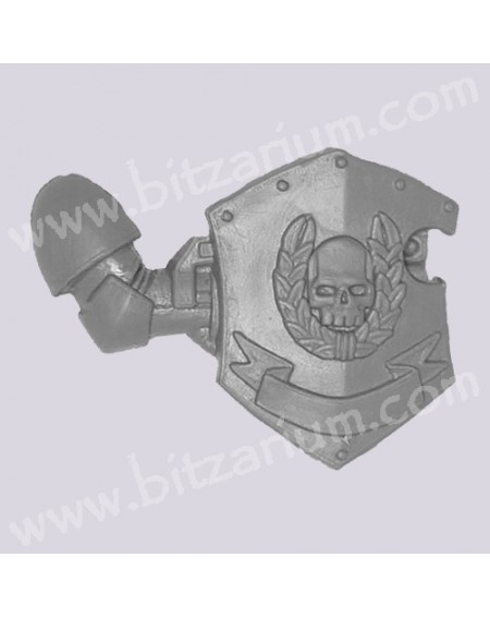 Right Arm with Shield
