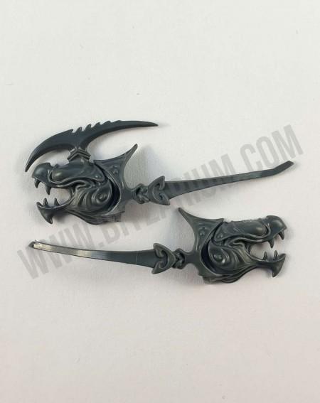 Fangmora Eels Tête Prince Lochian Akhelian Guard