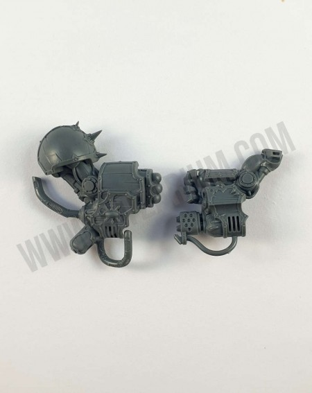 Canon métallodermique 1 Obliterators