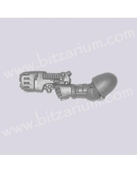 Left Arm with Plasma Pistol