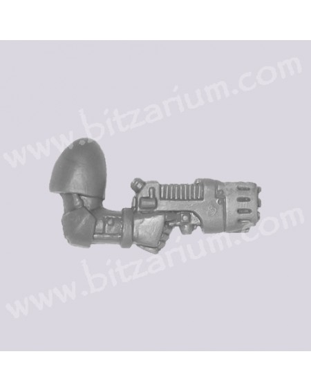 Right Arm with Plasma Pistol