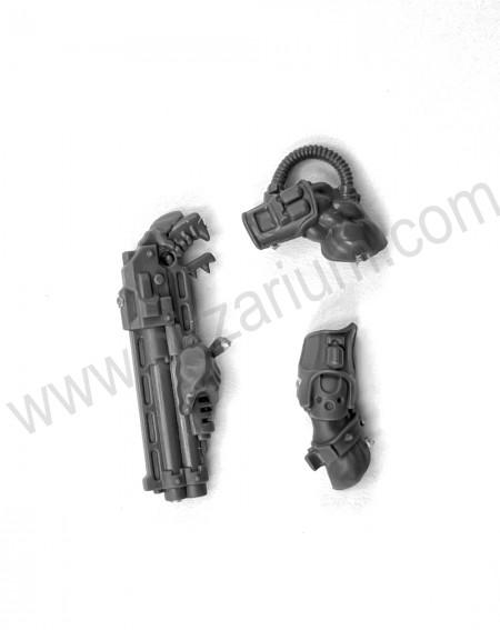fusils à pompe  Armes et améliorations Goliath