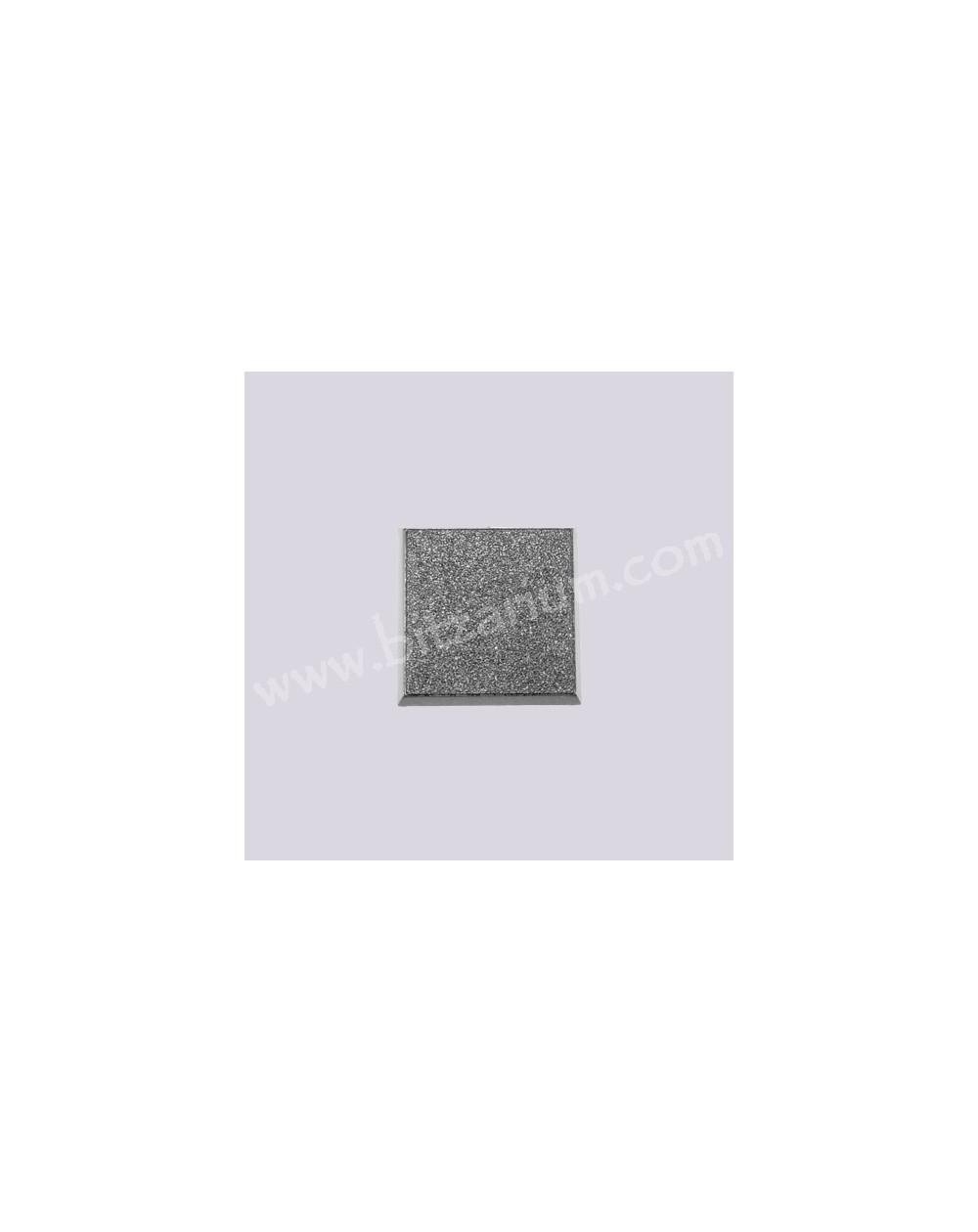 Socle carré plein 25mm 01
