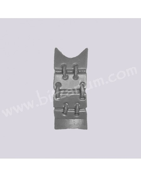 Plaque dorsale 3