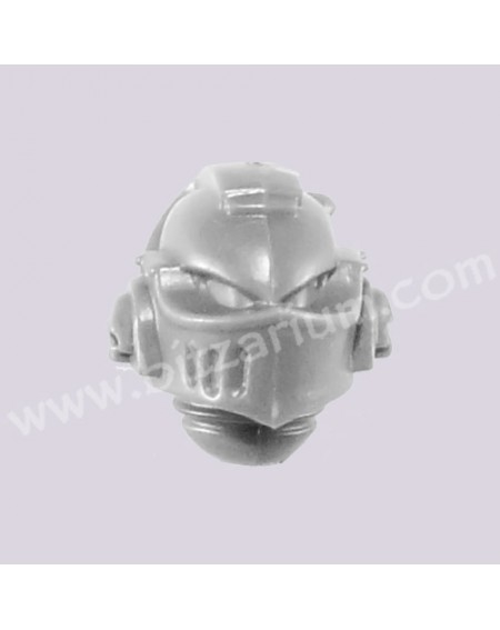 Helmeted Head 4