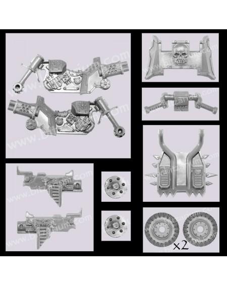 Châssis de Moto Space Marine du Chaos