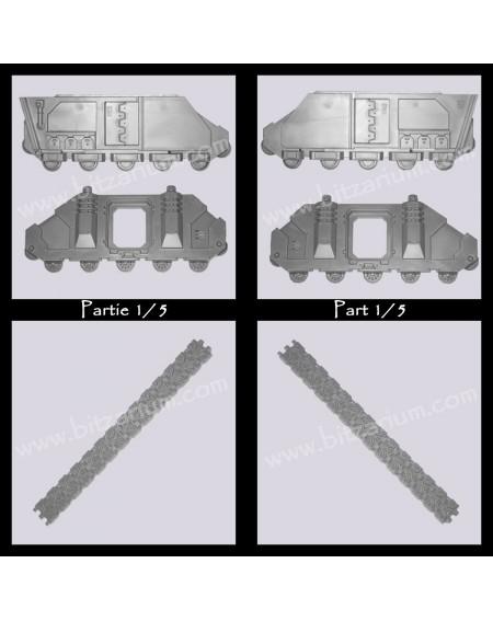 Structure de Rhino / Predator