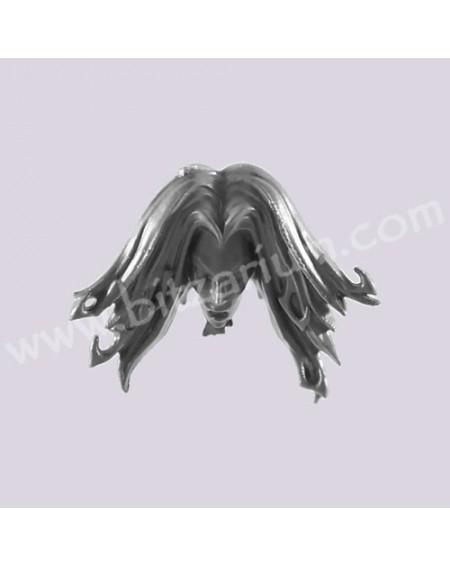 Sorceress Head 1 - Dreadlord on Black Dragon
