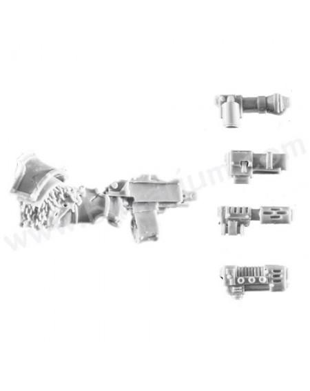 Combi-Weapon - Grave Wardens