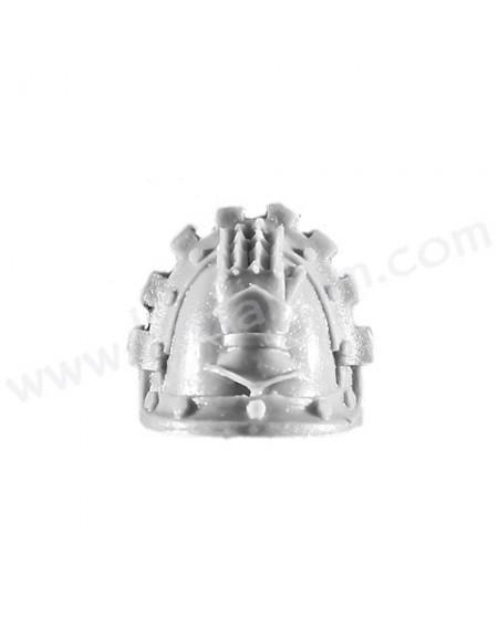 Shoulder Pad 1 - Iron Hands MKIII