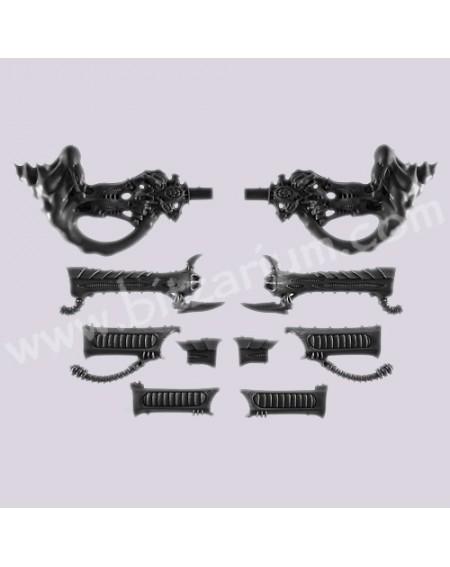Twin-linked Stranglethorn / heavy Venom Cannon - Harpy
