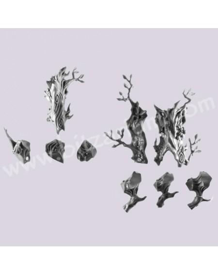 Left Leg - Treeman