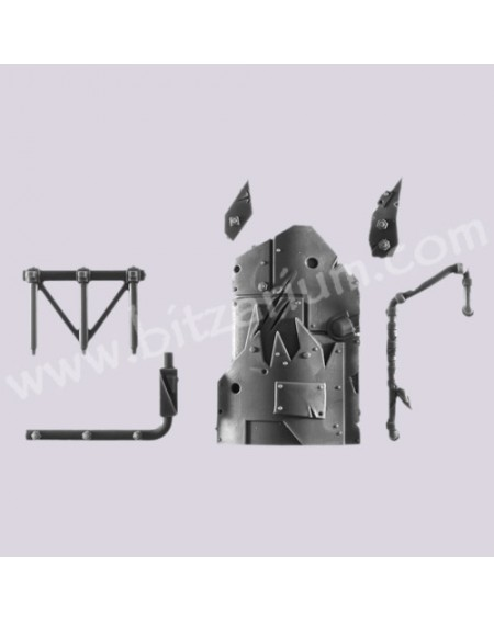 Left Armor - Mek Gunz