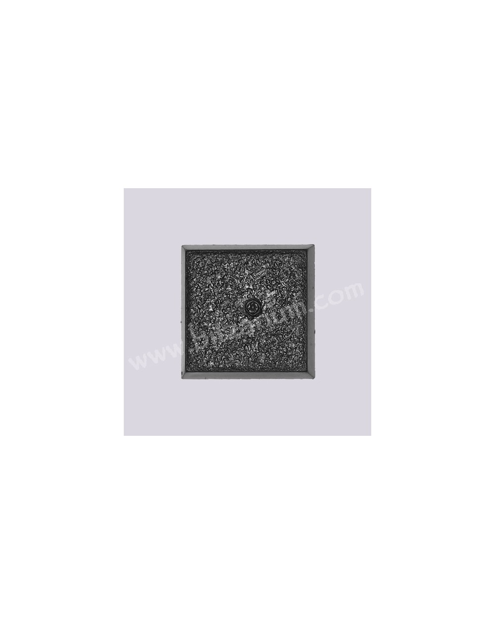 25mm/0,98in solid square Base 05