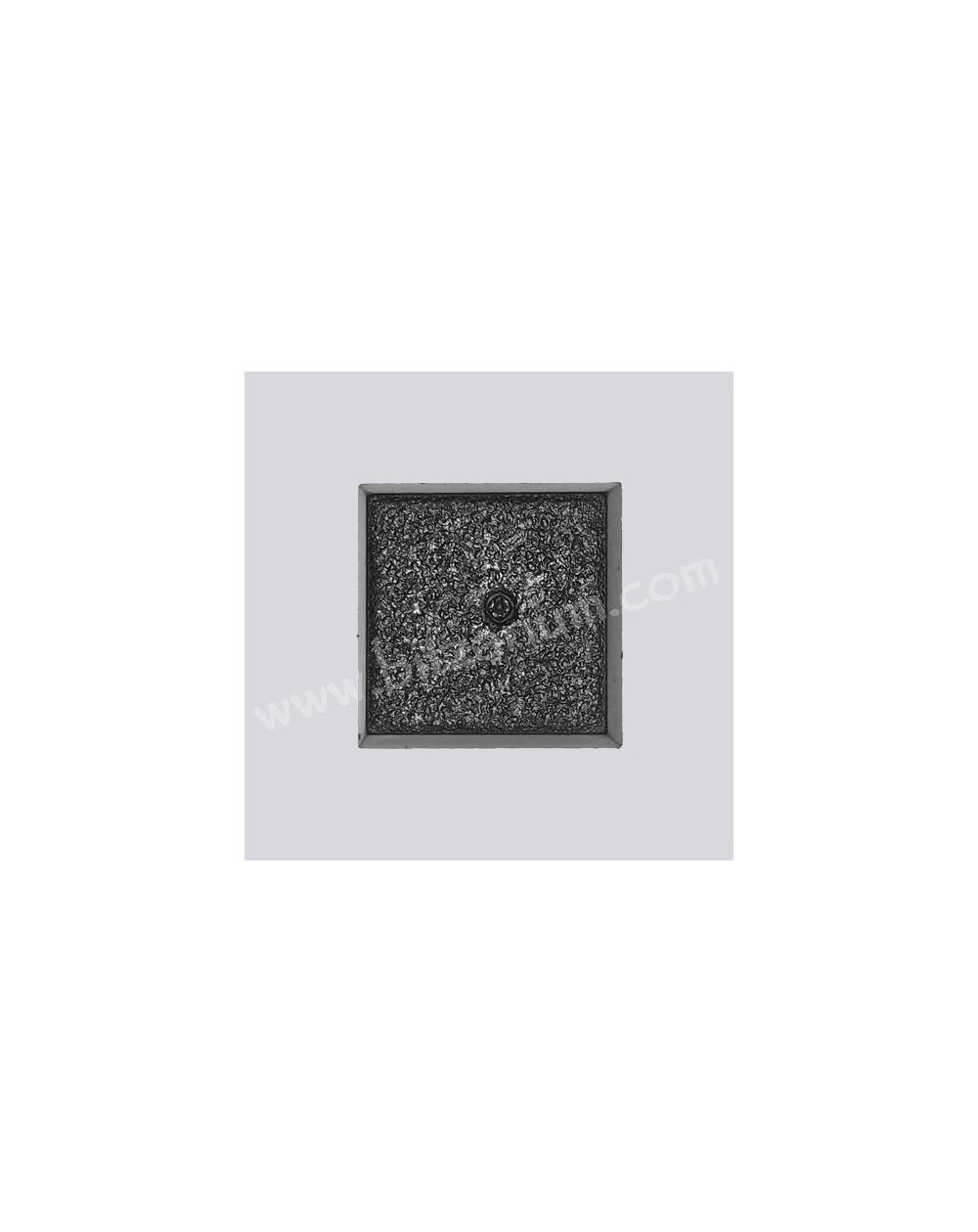 Socle carré plein 25mm 05