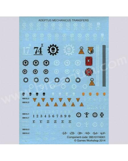 Adeptus Mechanicus - Transfer Sheets