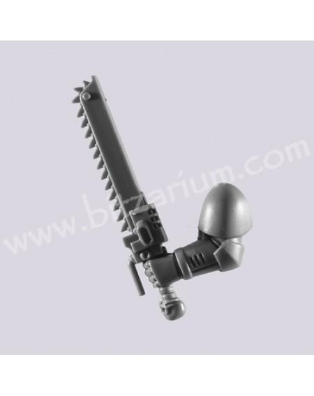 Épée Tronçonneuse 2 - Escouade d'Assaut Space Marine